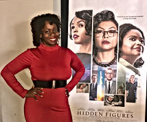 Ash Said it attends Hidden Figures Preview Event in Atlanta.