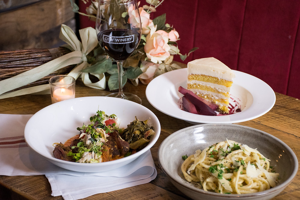 Wine & Dine Your Valentine at City Winery