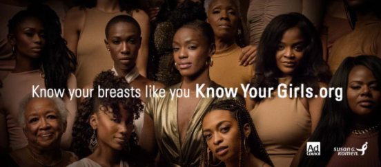 BLACK WOMEN ARE 40% MORE LIKELY TO DIE FROM BREAST CANCER THAN WHITE WOMEN