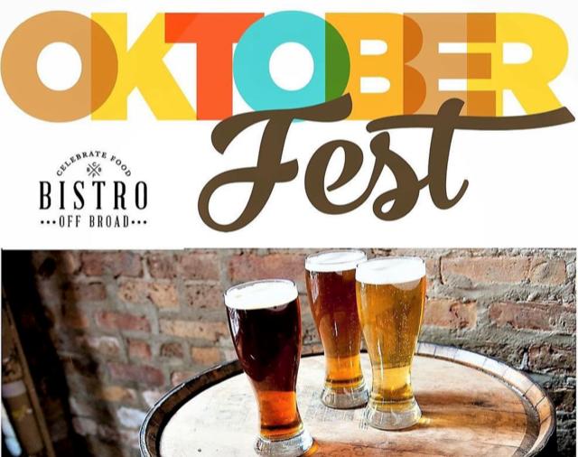 Kick Off Oktoberfest at Bistro Off Broad