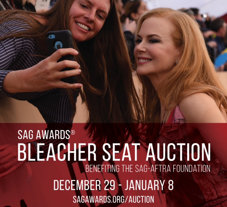 SAG Awards® Red Carpet Bleacher Seats Up for Auction Through Jan. 8