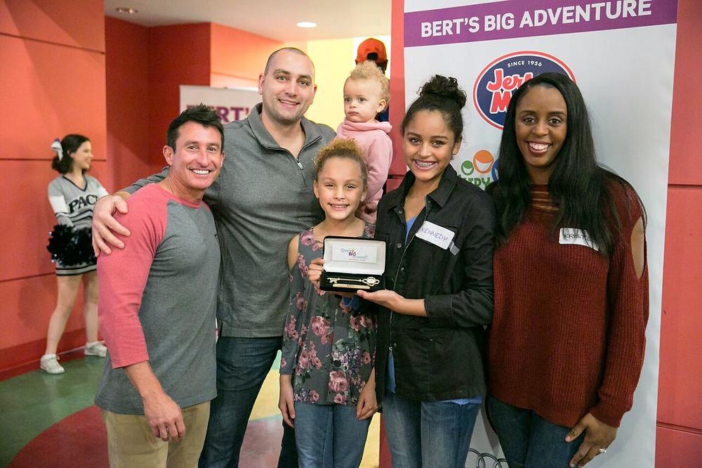 Bert's Big Adventure Surprises Families with Trip of a Lifetime