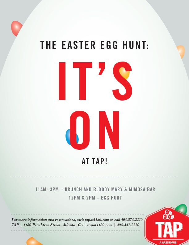 The Easter Egg Hunt is On at TAP