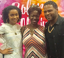 Ash Said it founder Ash Brown with Anthony Anderson of Blackish