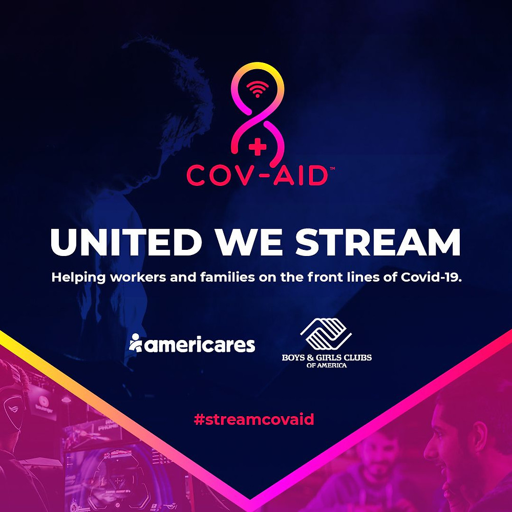 Cov-aid Announces Partnership with DoorDash To Donate Meals to Those In Need During 10-hour Streaming Charity Event on #GivingTuesday, May 5
