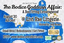 Livi Rae Lingerie Bra Fitting Event