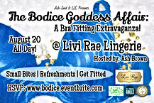 Livi Rae Lingerie Bra Fitting Event