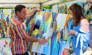 The Roswell Spring Arts & Crafts Festival This Weekend
