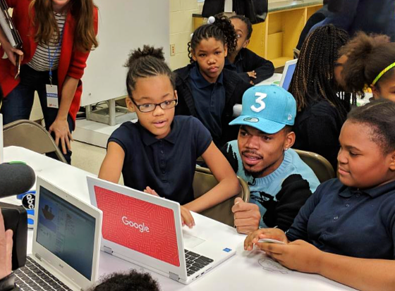 Google.org Donates $1M Grant to Chance the Rapper's SocialWorks Non-Profit