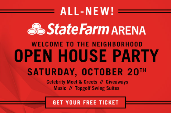 NEW State Farm Arena Open House Party