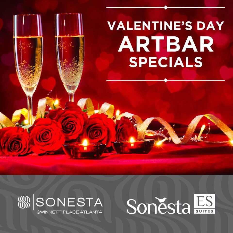 Treat Yourself this Valentine's Day at Sonesta Gwinnett Place Atlanta