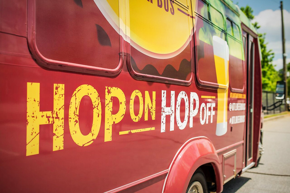 THE ATLANTA BEER BUS LAUNCHES HOP-ON AND HOP-OFF BREWERY SHUTTLE SERVICE