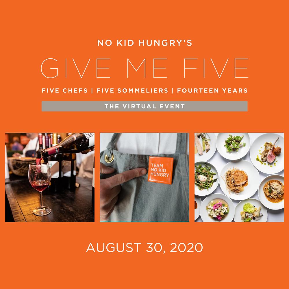 No Kid Hungry Atlanta Hosts Virtual Give Me Five Event