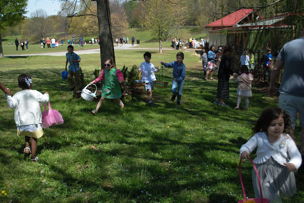 Park Tavern in Piedmont Park - Easter Brunch, Easter Egg Hunt and Pictures with the Easter Bunny