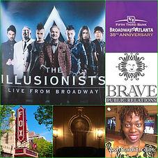 The Fox Theatre, Brave PR ATL, The Illusionists