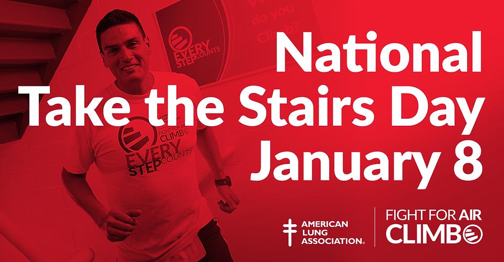 National Take the Stairs Day Kickoffs the Atlanta Climb Season