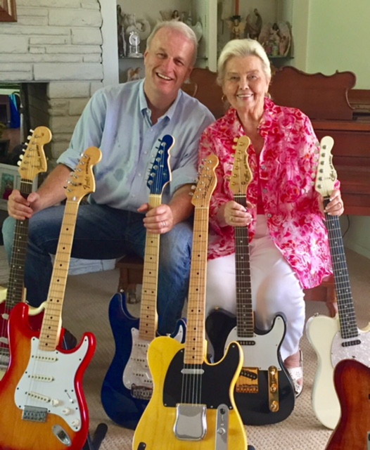 Phyllis Fender and Randall Bell