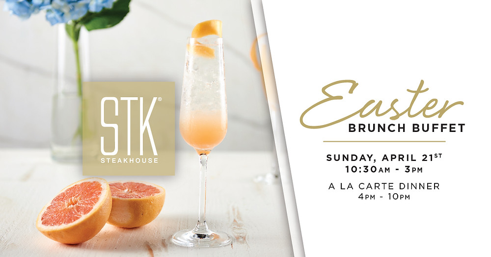 Take Easter Brunch to the Next Level at STK Atlanta, 10:30 a.m.