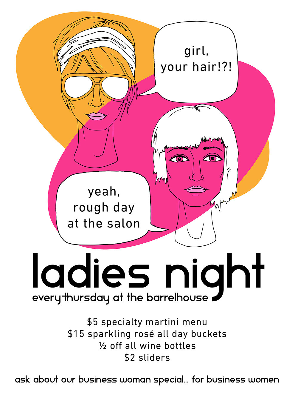 Barrelhouse Hosts Ladies Night Drink Specials Every Thursday
