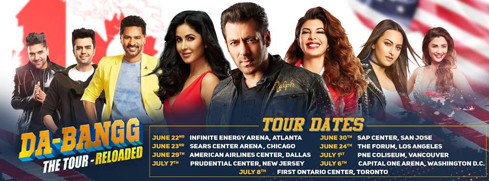 "Salman Khan's ""Da-Bangg Reloaded Tour"" heads to North America"