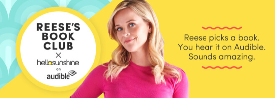 Reese Witherspoon's Hello Sunshine teams up with Audible!