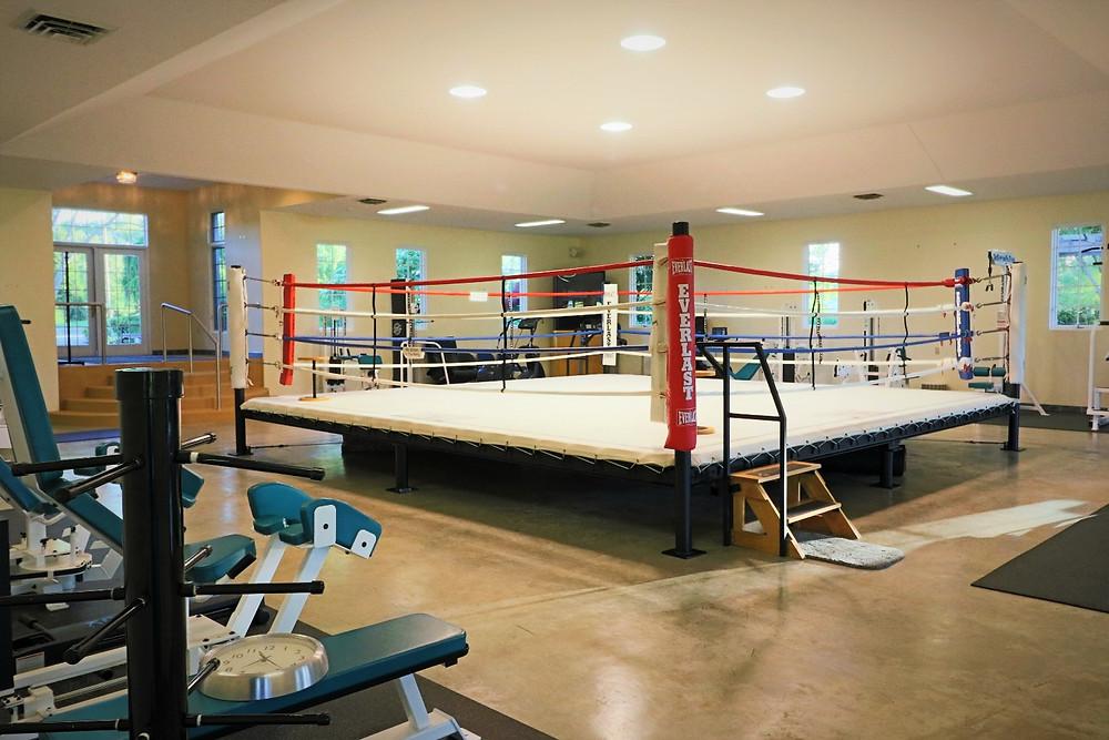 Muhammad Ali's Michigan Farm with Boxing Ring