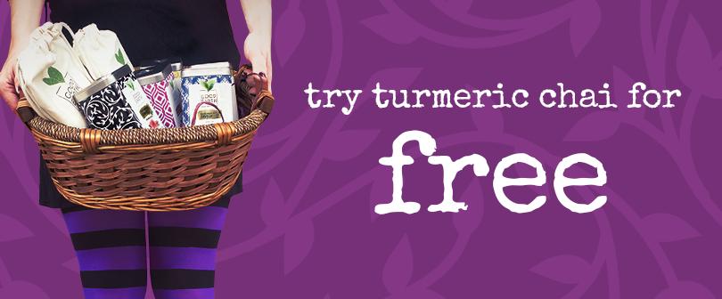 Exclusive Halloween Treat: Free Good Earth Turmeric Chai Tea