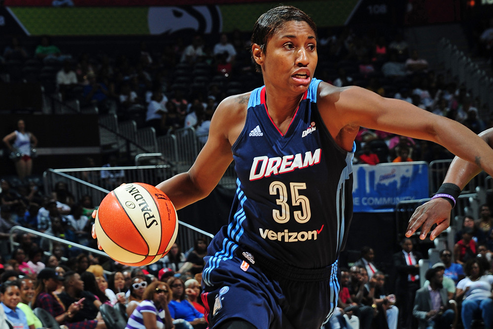 ANGEL McCOUGHTRY NAMED WNBA PLAYER OF THE WEEK