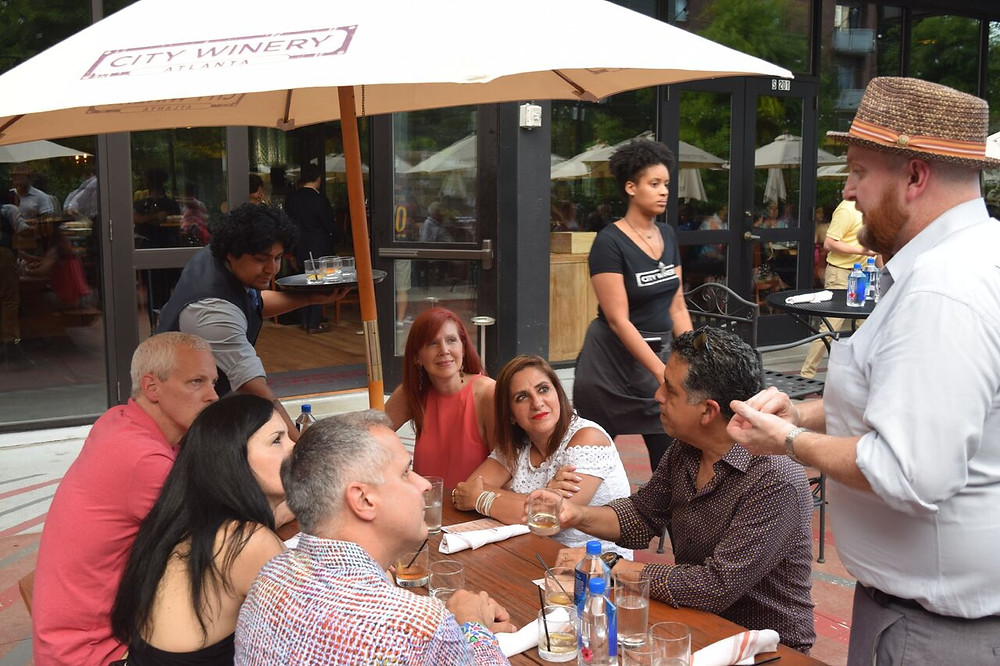 CITY WINERY HOSTS 4TH OF JULY PATIO PARTY BEFORE THE FIREWORKS