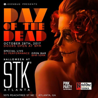 STK ATLANTA PRESENTS A HAUNTINGLY SEXY DAY OF THE DEAD HALLOWEEN PART