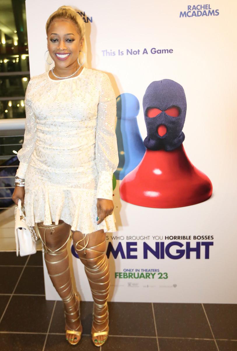 Trina Hosts Miami Screening of GAME NIGHT