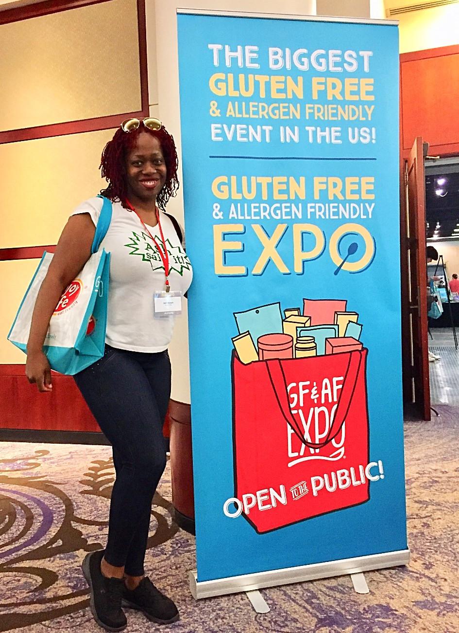 Ash Said It Attends Gluten Free Allergen Friendly Expo Atlanta 2018