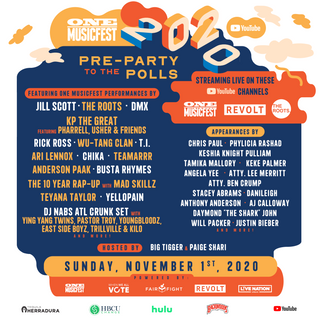 ONE Musicfest 2020: Pre-Party To The Polls