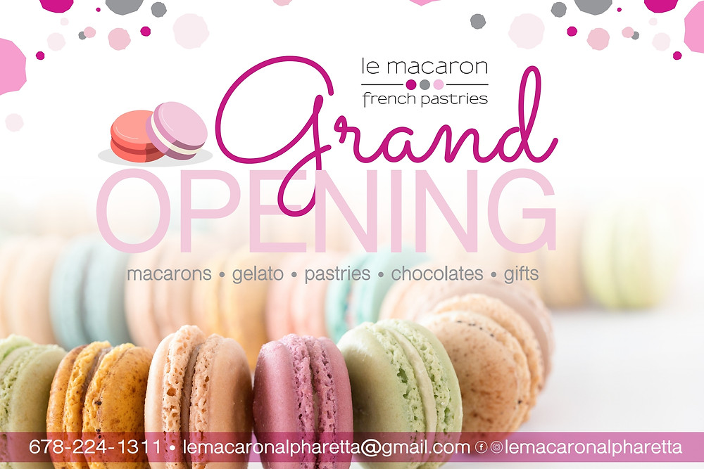 Grand Opening: Le Macaron North Point