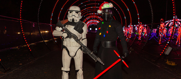 Bert's Big Adventure Hosted Their13th annual Holiday Family Reunion at World of Illumination