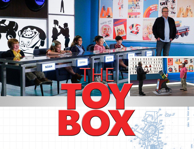 ABC and Mattel are discovering the next great toy inventor on an all-new competition show! Tune in to The Toy Box season 2 Sundays at 7 PM!