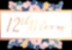 high res transparent 12th Bloom logo var
