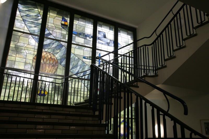 Treppenhaus Haupteingang