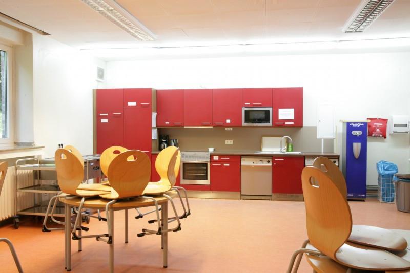 Hauptküche Untergeschoss