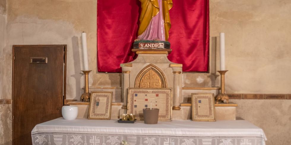 Messe à Montlignon avec notre évêque