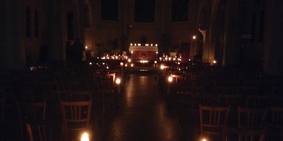 Messe de l'aurore au Sacré-Coeur (3ème jeudi de l'Avent)