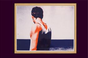 """Sérigraphie """"Les noces"""" 40x50"""