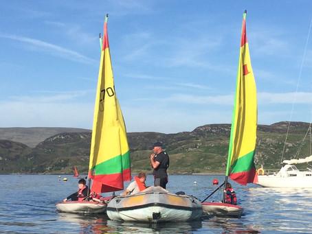 Tighnabruaich Primary School Sailing Lessons