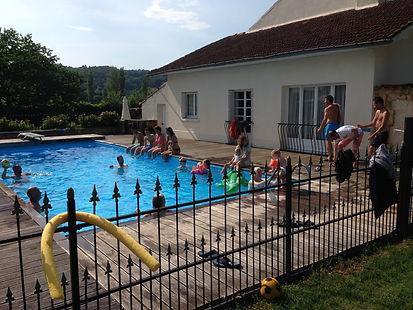 Zwembad Camp del Saltre trouwen in Lot Frankrijk