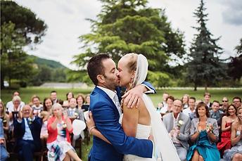 Ceremonie trouwen in Frankrijk Lot Dordogne Chateau Camp del Saltre