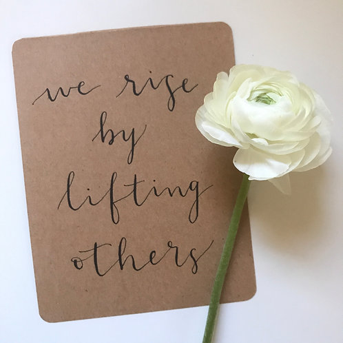 "5 1/2"" x 4 1/4"" Quote Card"
