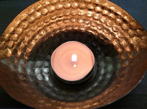 Entspannende Kerze