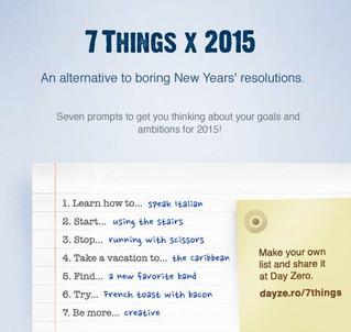 7 Things x 2015