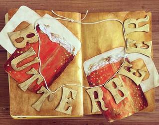 Harry Potter Art Journal: Butterbeer