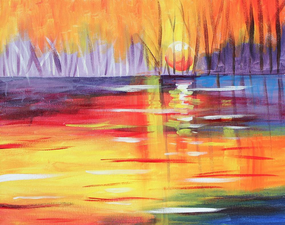 Melinda_Walker_ Sunset on the Lake.JPG